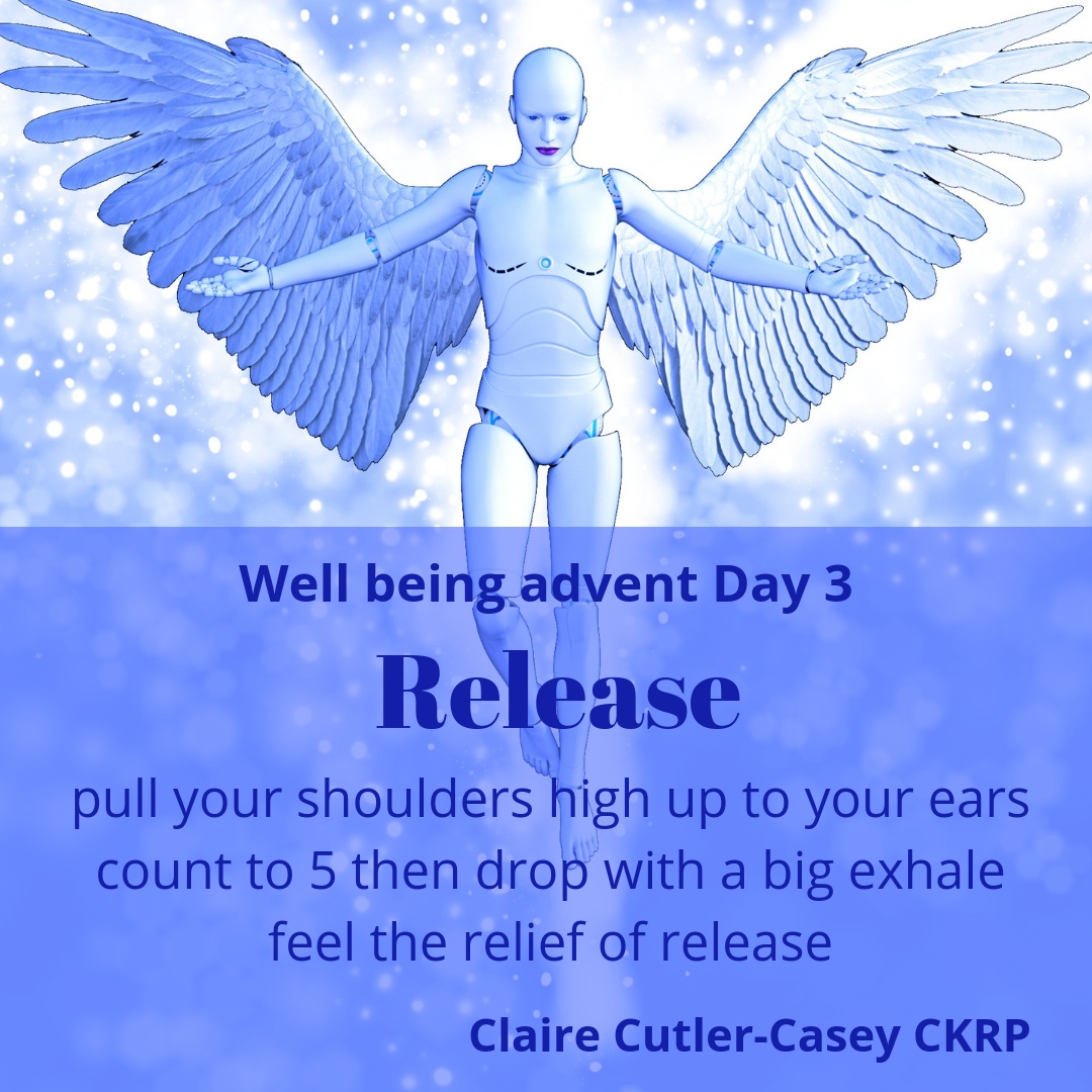 Well being advent day 3