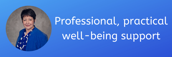 Professional, practical well-being support